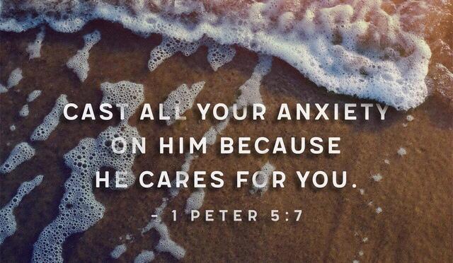 Cast your burdens on God