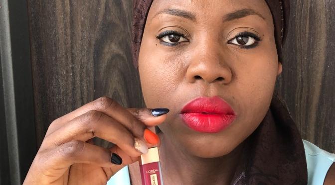 L'Oréal liquid matte lipsticks review